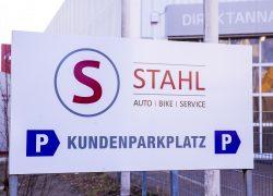 Auto Stahl Wien 21 | Kundenparkplatz