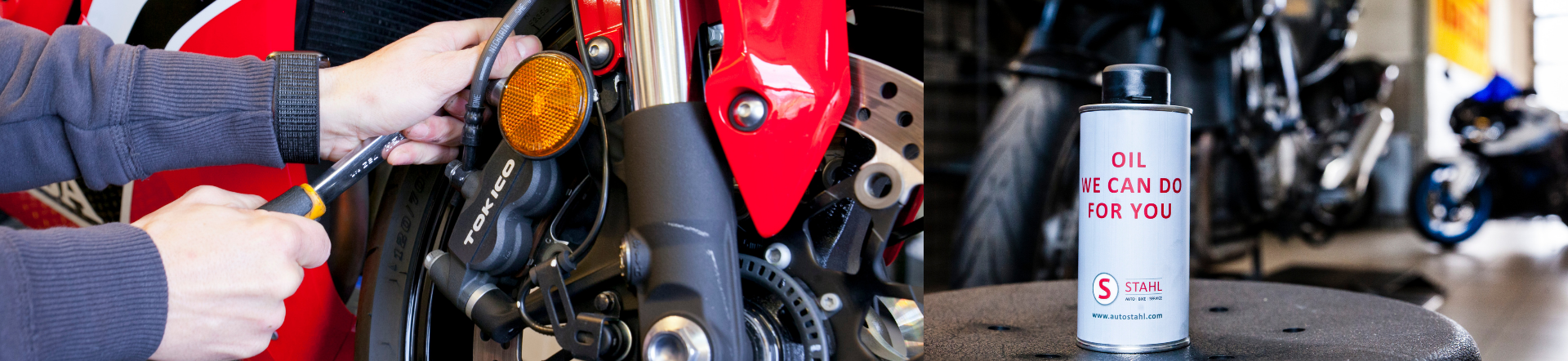 Bike Mechanik bei AUTO STAHL Headerbild