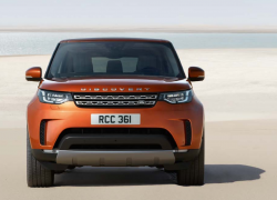 Range Rover Discovery bei Auto Stahl Frontansicht