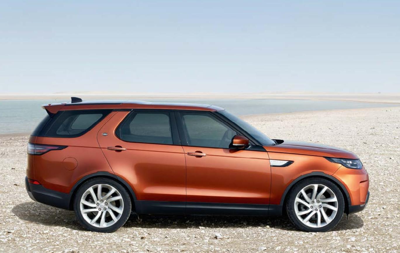 Range Rover Discovery bei Auto Stahl Seitenansicht