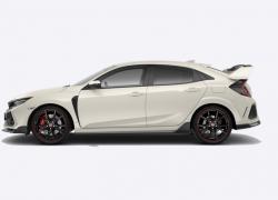 Honda Civic Type-R bei Auto Stahl Seitenansicht