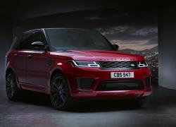 Range Rover Sport bei Auto Stahl Seitenansicht