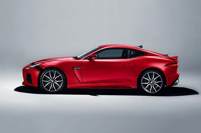 Jaguar F-Type SVR Graphic-Pack Caldera Red & Black bei Auto Stahl