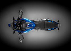 Honda NC750X DCT ABS bei Auto Stahl Vogelperspektive