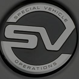 Land Rover SVO Teaser