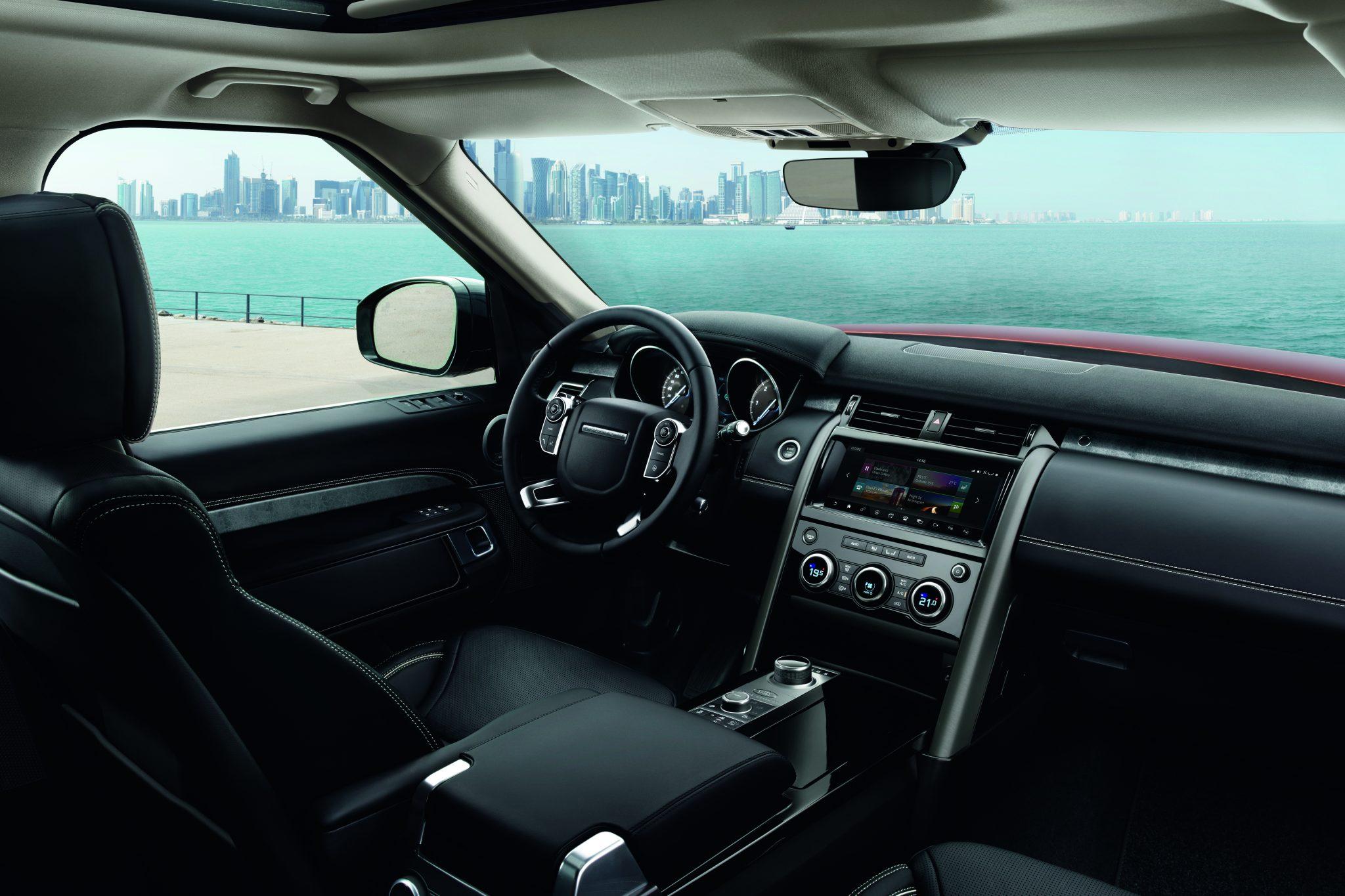 Range Rover Discovery bei Auto Stahl Innenansicht