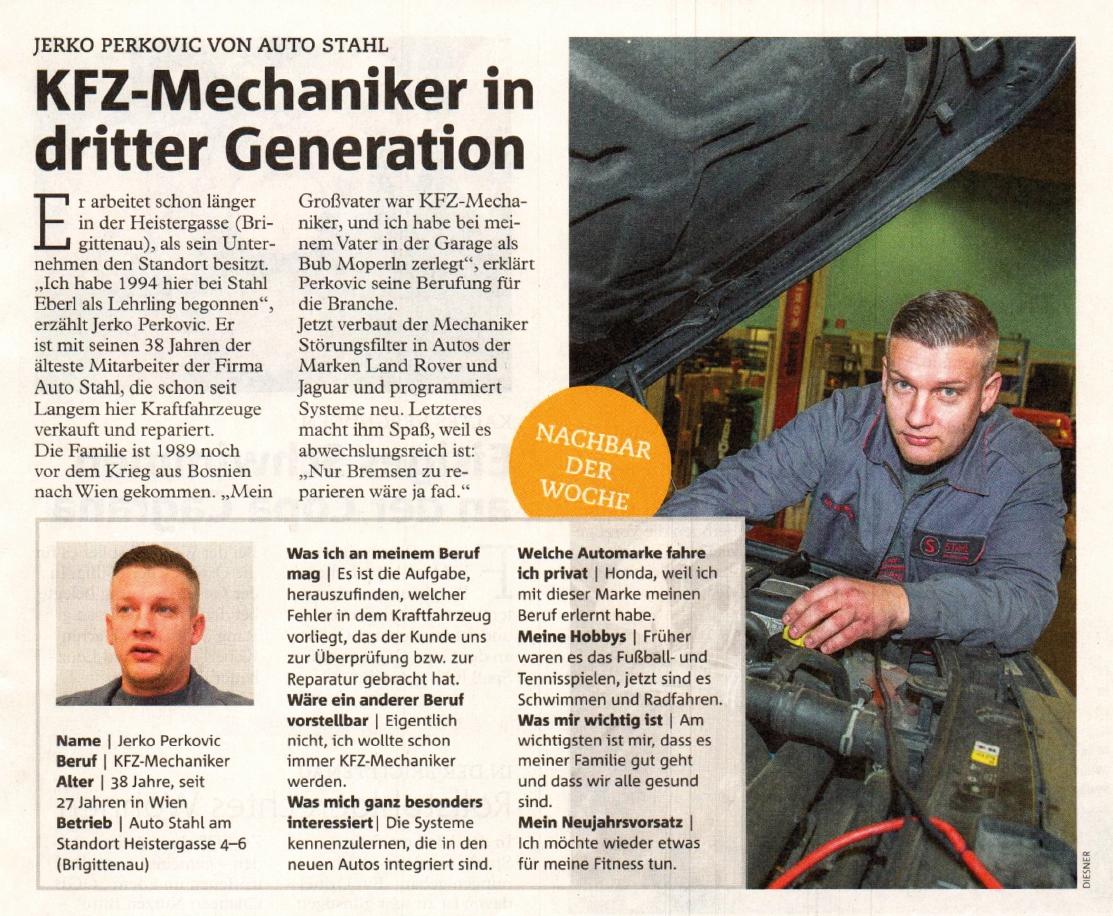 Ziemlich Kfz Techniker Wieder Ziele Zeitgenössisch - Entry Level ...