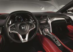 Honda NSX bei Auto Stahl Innenansicht