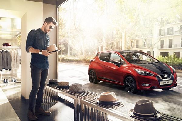 Nissan Micra 2017 Seitenansicht