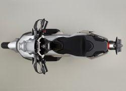 HONDA X-ADV bei Auto Stahl Vogelperspektive