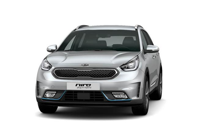 Kia Niro Plug-in Hybrid bei Auto Stahl Frontansicht