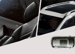 Nissan X-Trail bei Auto Stahl Vogelperspektive Innenansicht