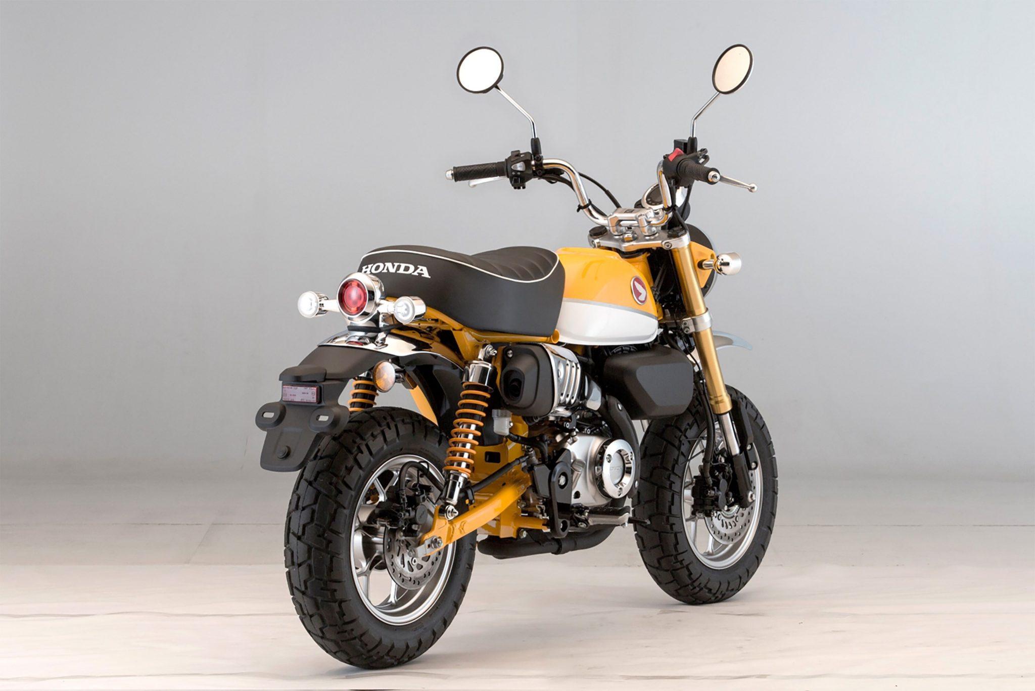 Honda Monkey 2018 bei Auto Stahl Gelb Schwarz Silber