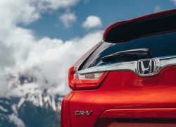 Honda CR-V 2018 Heck Rückleuchte Rot Himmel