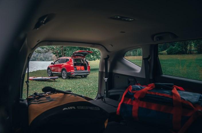 Honda CR-V 2018 Kofferraum viel Platz Outdoor