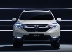 Honda CR-V Hybrid bei Auto Stahl Frontansicht