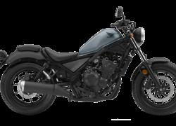 CMX 500 Rebel 2019 bei Auto Stahl Schwarz Blau Seitenansicht