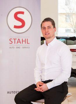 Auto Stahl Verkaufsberater Tobias Klingenbrunner in Wien 23