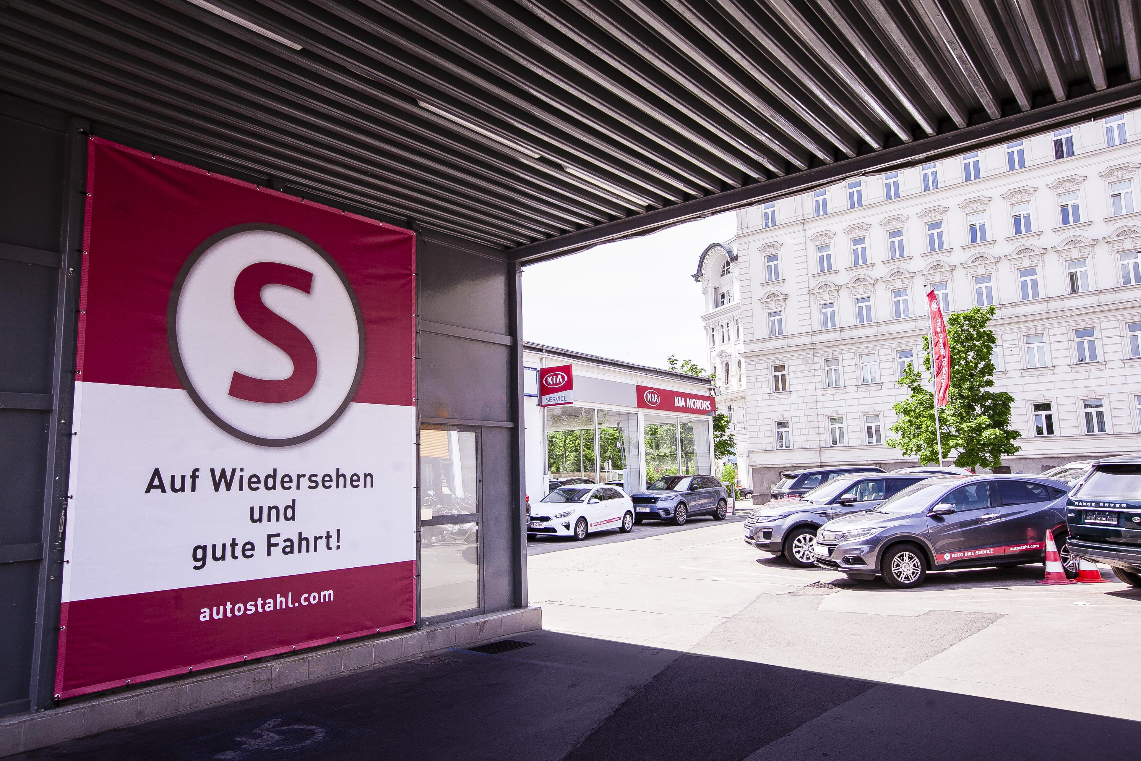 Auto Stahl Wien 20 Einfahrt