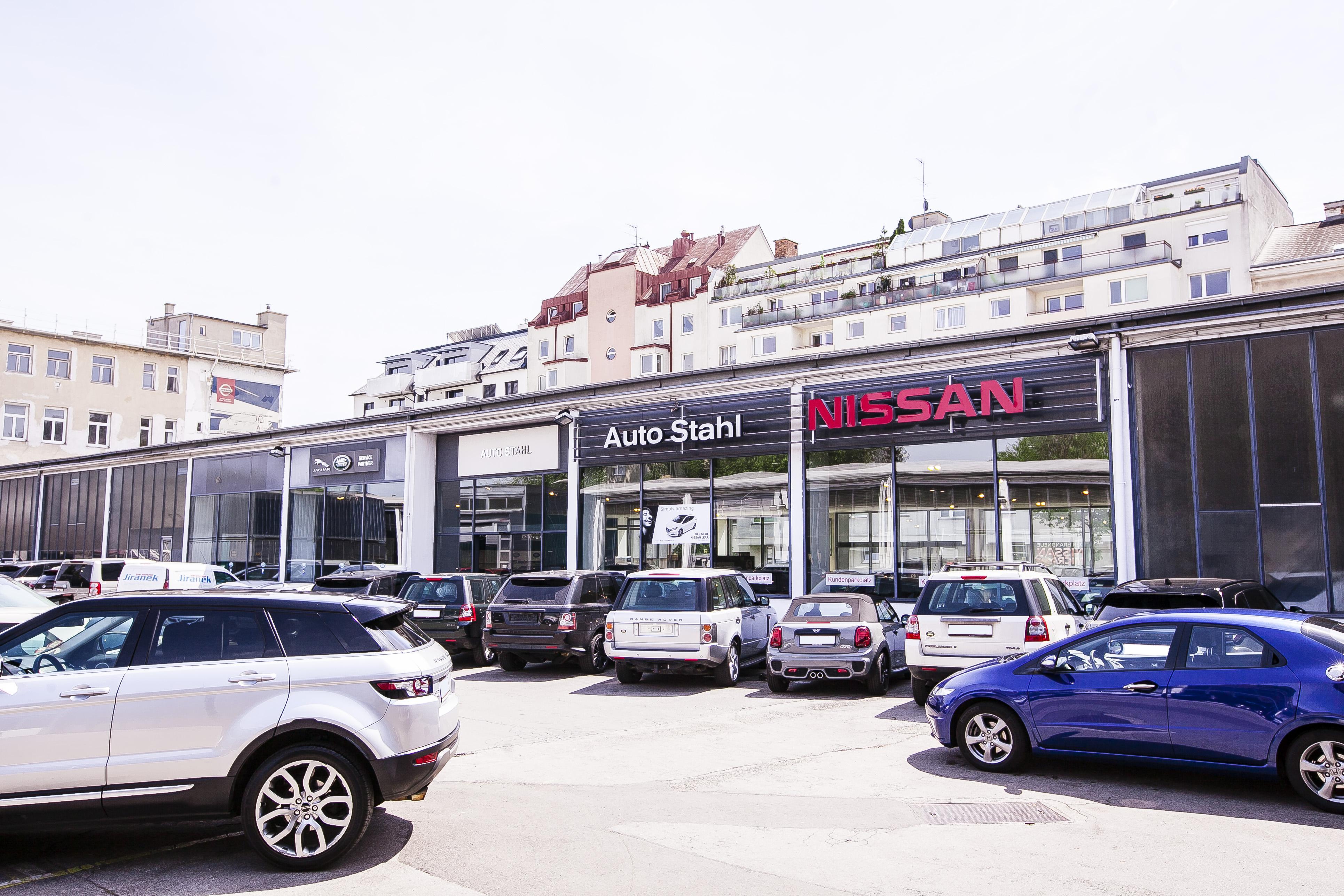 Auto Stahl Wien 20 Parkplatz