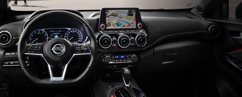 Nissan Juke 2019 bei Auto Stahl Innenansicht