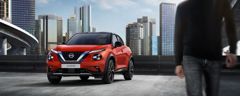 Nissan Juke 2019 Auto Stahl Seitenansicht