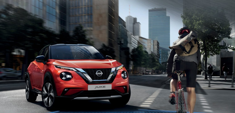 Nissan Juke 2019 Auto Stahl Frontansicht
