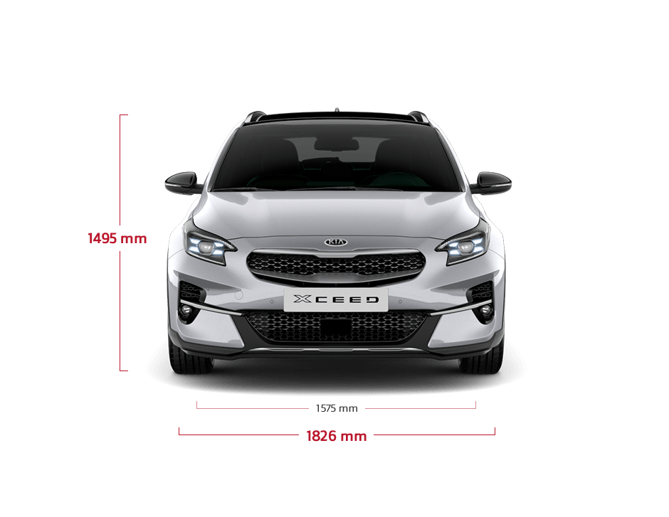 Kia XCeed bei Auto Stahl Frontansicht