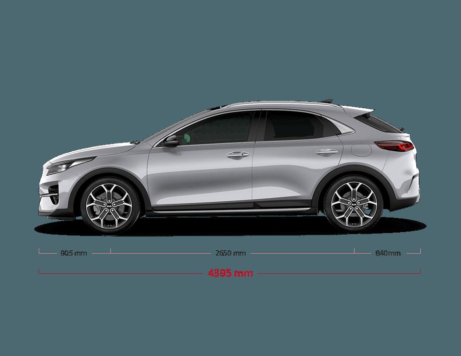 Kia XCeed bei Auto Stahl Seitenansicht