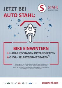 Service-Aktion Bike einwintern bei AUTO STAHL