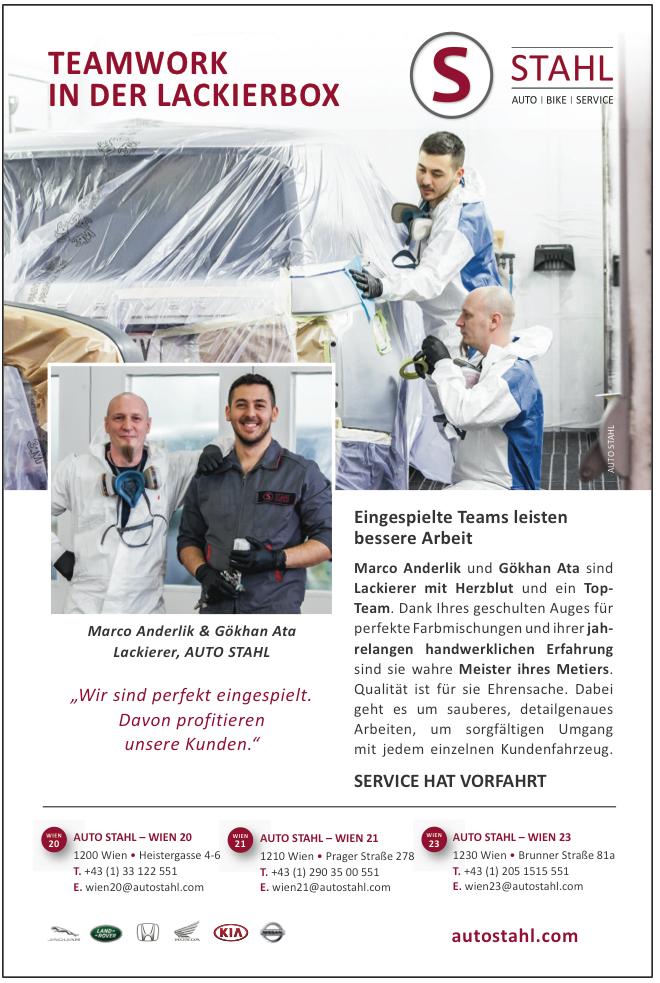 Presseartikel Auto Stahl Kurier Artikel: Teamwork in der Lackierbox, erschienen am 19.3.2019