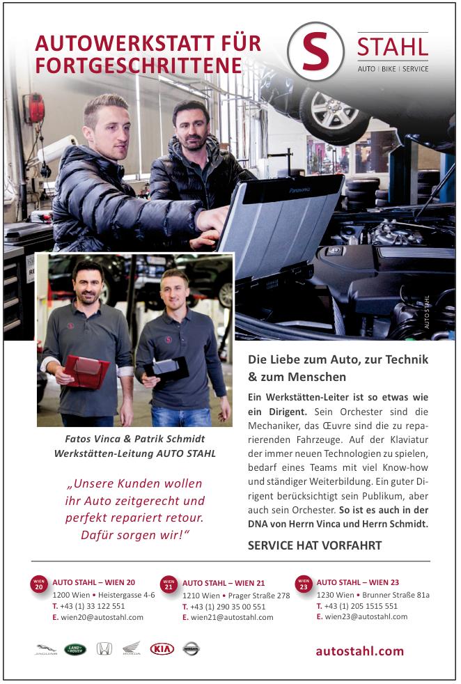 Presseartikel Auto Stahl Kurier Artikel: Autowerkstatt für Fortgeschrittene, erschienen am 19.5.2019