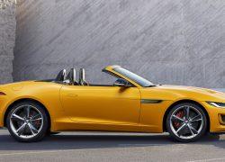 Der neue Jaguar F-Type bei Auto Stahl Seitenansicht