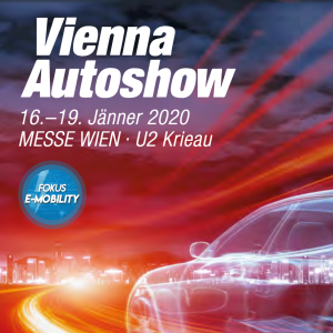 Key Visual der Vienna Autoshow 2020