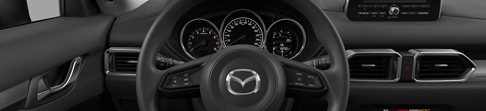 Mazda MX-5 Modellabbildung, Headerbild Cockpitansicht