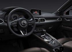 Mazda MX-5 Modellabbildung, Blick in den Innenraum, Fahrerseite plus Lenkradansicht