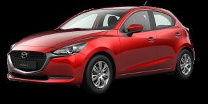 Mazda2 Modellabbildung für Leasingangebot
