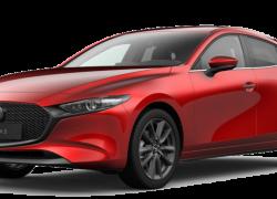Mazda3 Hatchback bei Auto Stahl Modellabbildung für Leasingangebot
