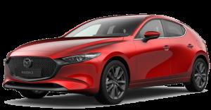 Mazda3 Hatchback Modellabbildung für Leasingangebot