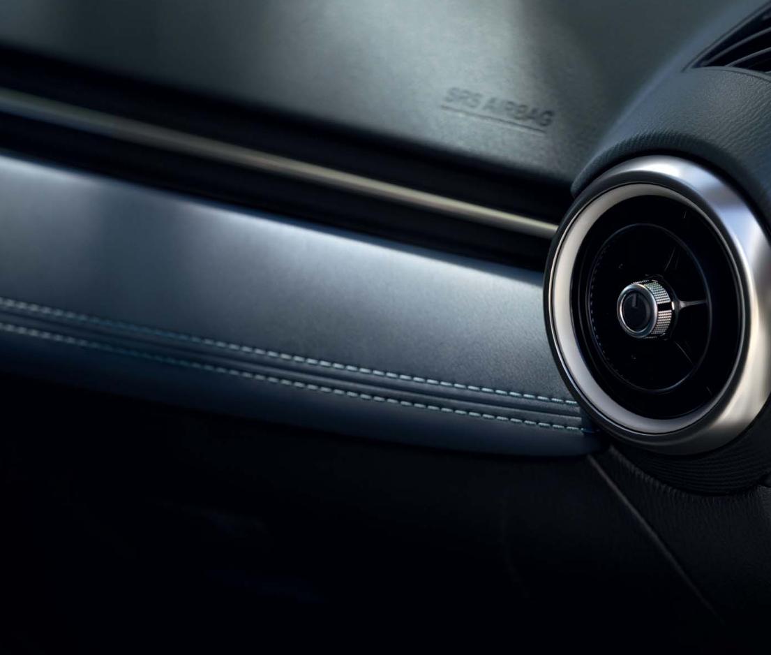 Mazda 2 bei Auto Stahl Innenansicht