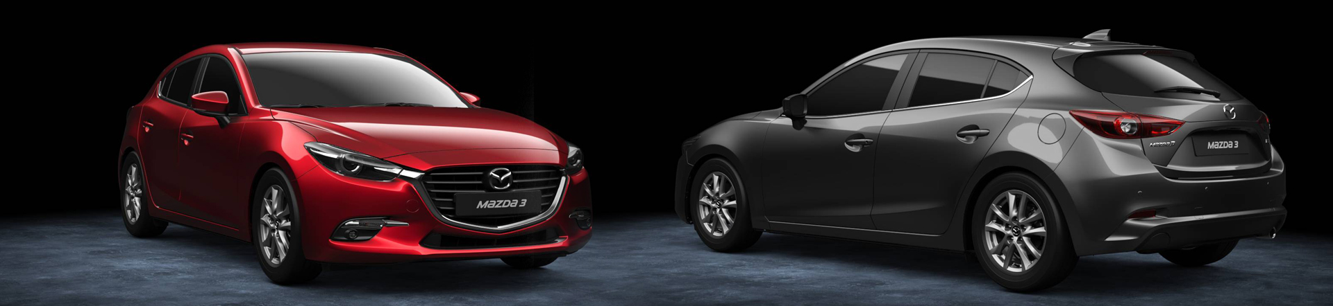 Mazda3 Hatchback Headerbild