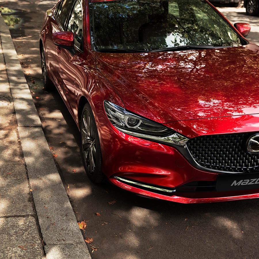 Mazda6 Limousine bei Auto Stahl Frontansicht