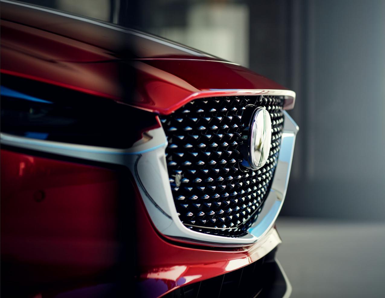 Mazda CX-30 bei Auto Stahl Modellabbildung