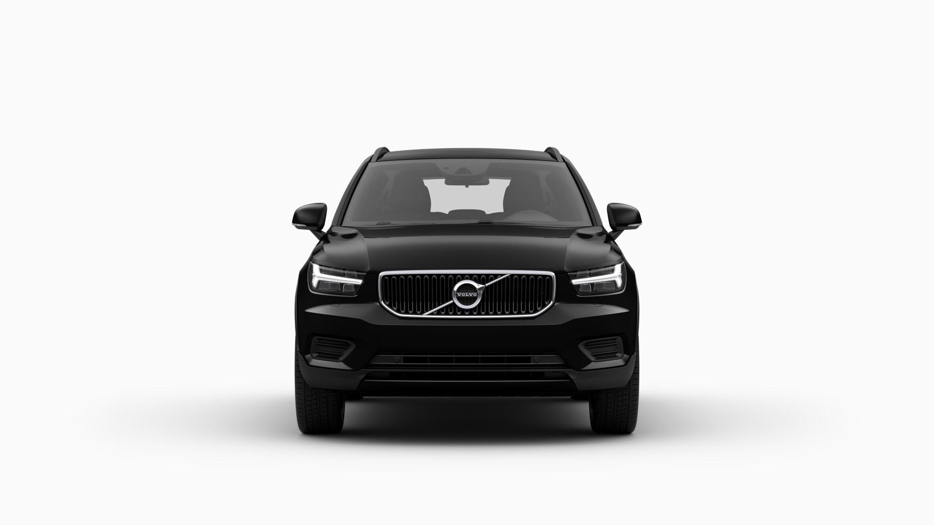 Volvo XC40, Modellfarbe schwarz, Außenansicht
