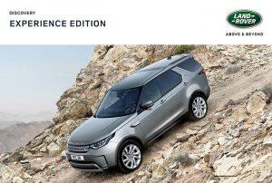 Land Rover Discovery Experience Edition Sondermodell bis 31.3.2020 erhältlich