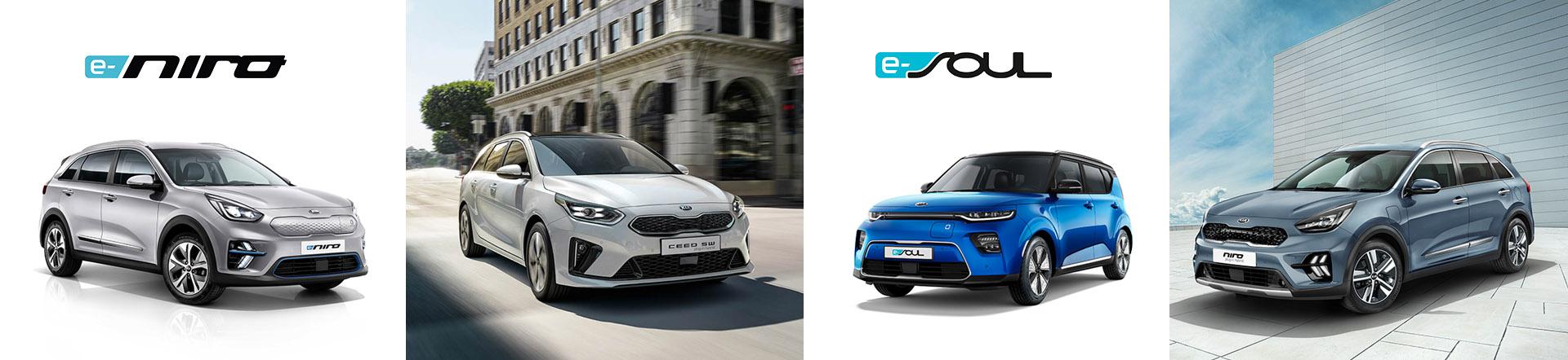 Kia e-Testdrive Tage bei AUTO STAHL #GOelectric mit den Modellen von KIA