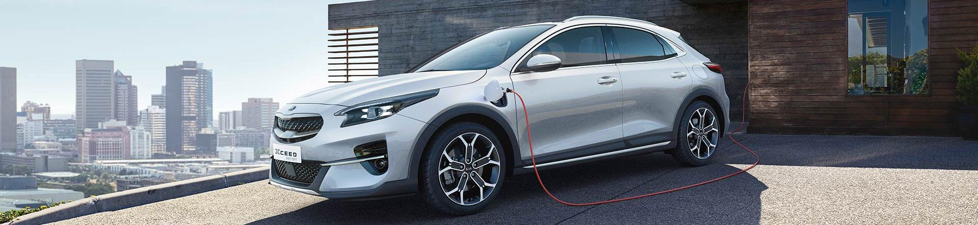 Kia XCeed Plug-in Hybrid bei Auto Stahl Seitenansicht Header