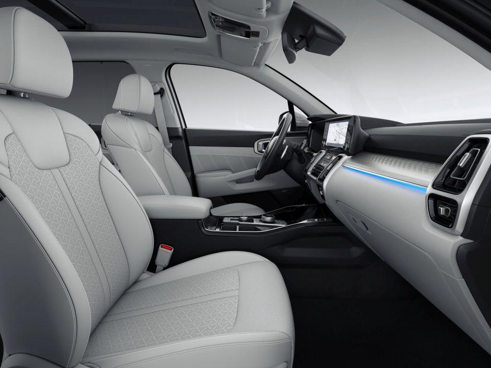 Der neue Kia Sorento Innenansicht bei Auto Stahl