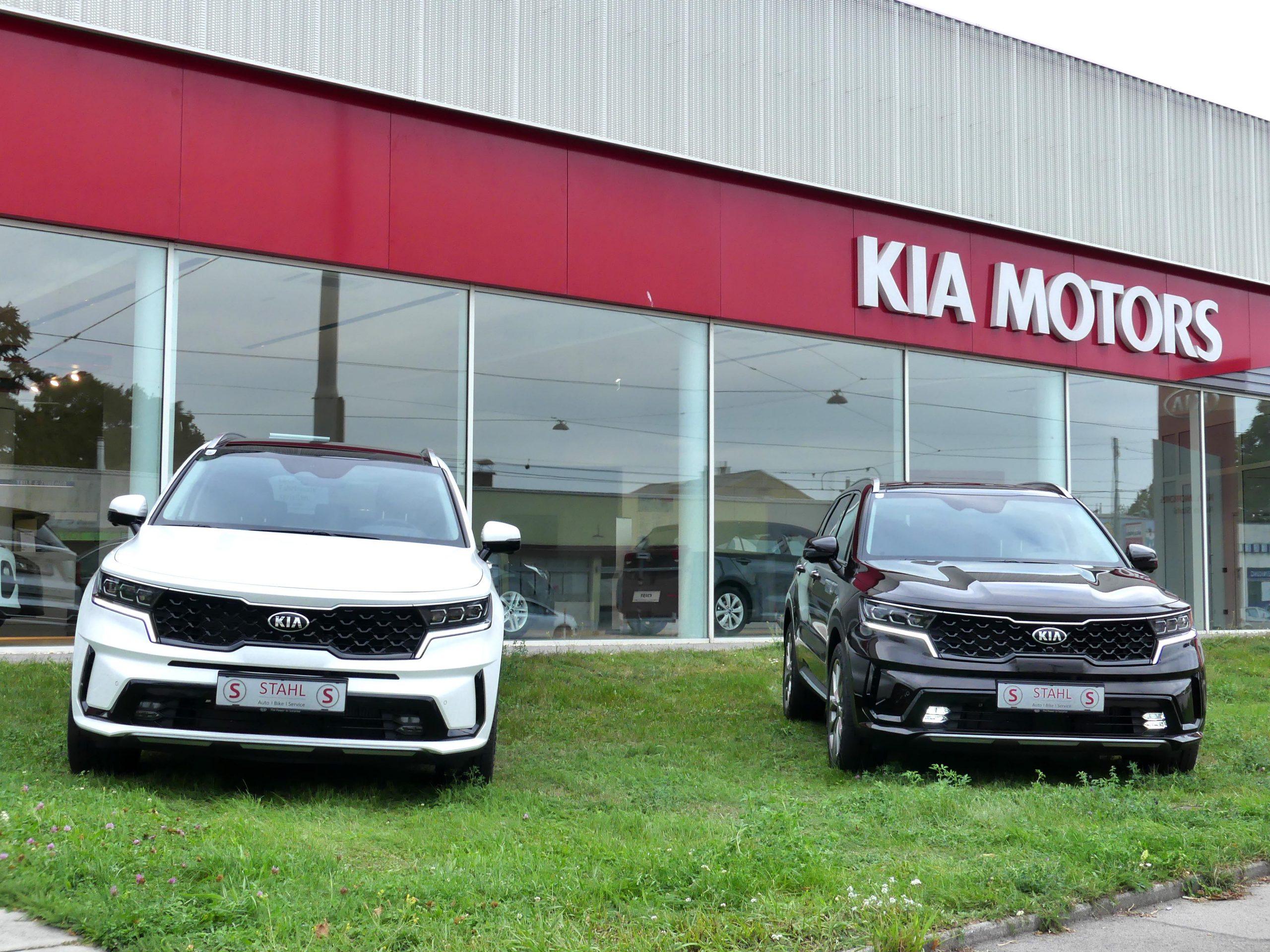 Auto Stahl der neue Kia Sorento Frontansicht