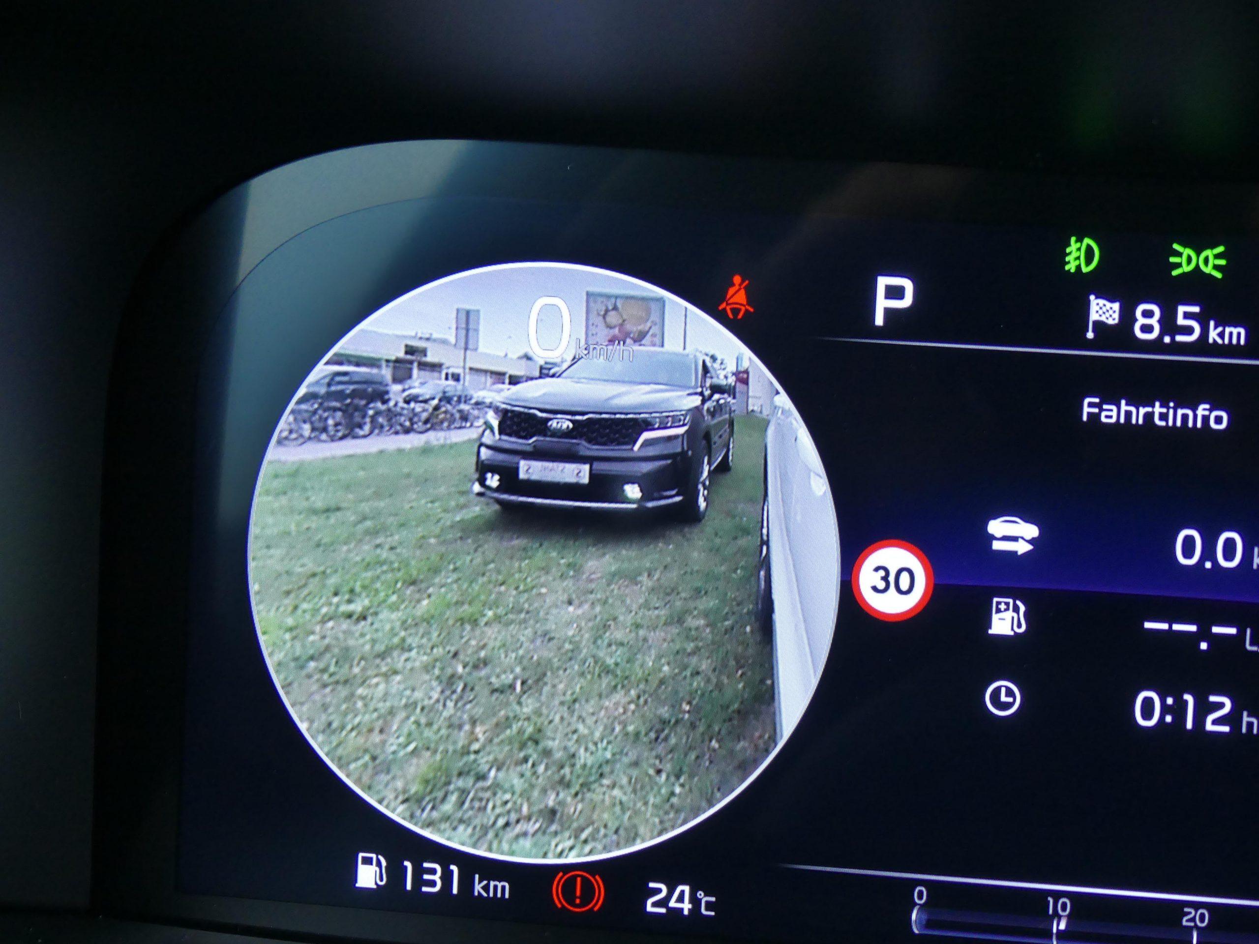 Auto Stahl der neue Kia Sorento Seitenspiegel